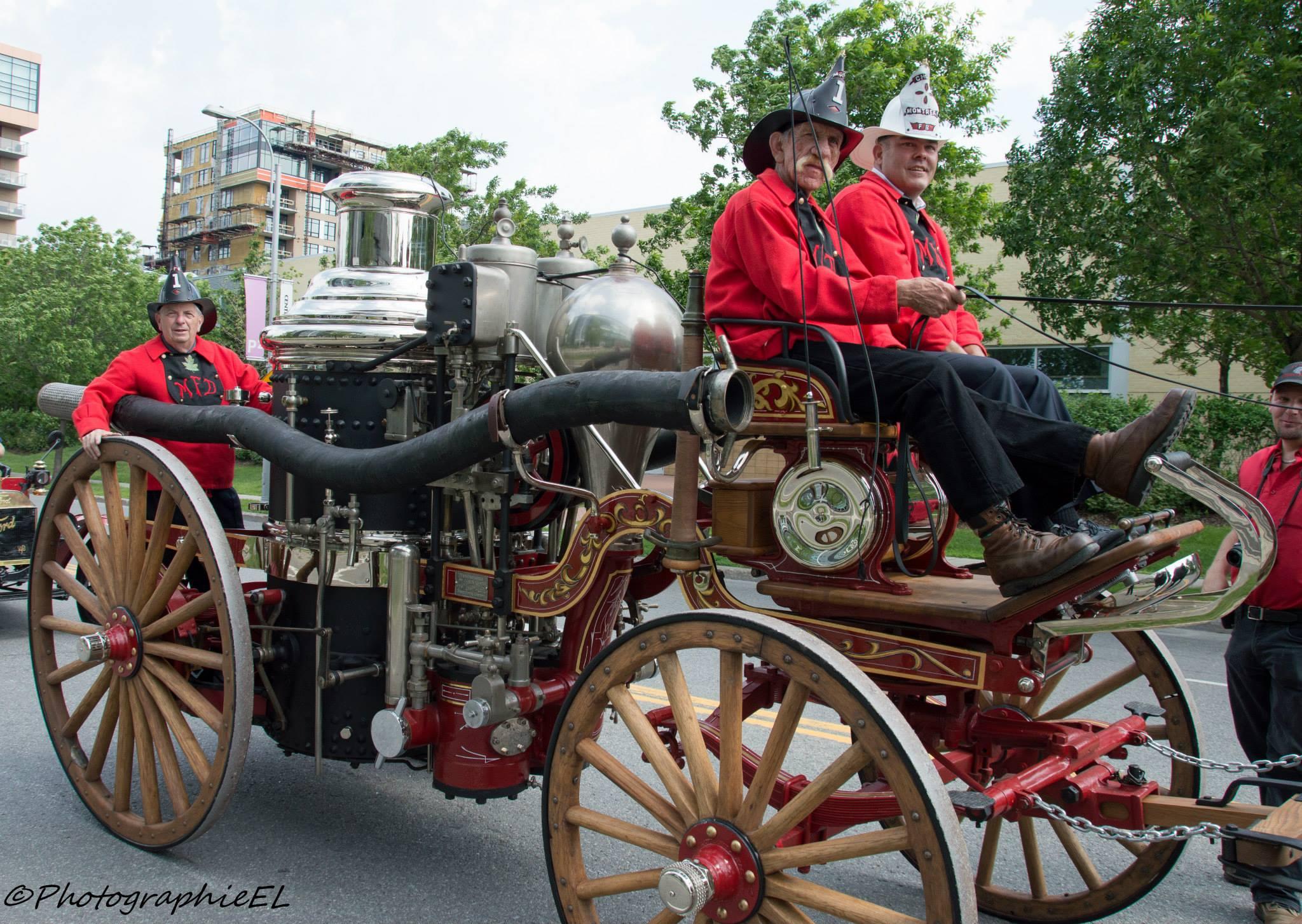 Véhicule Antique 2015 Laval Parade