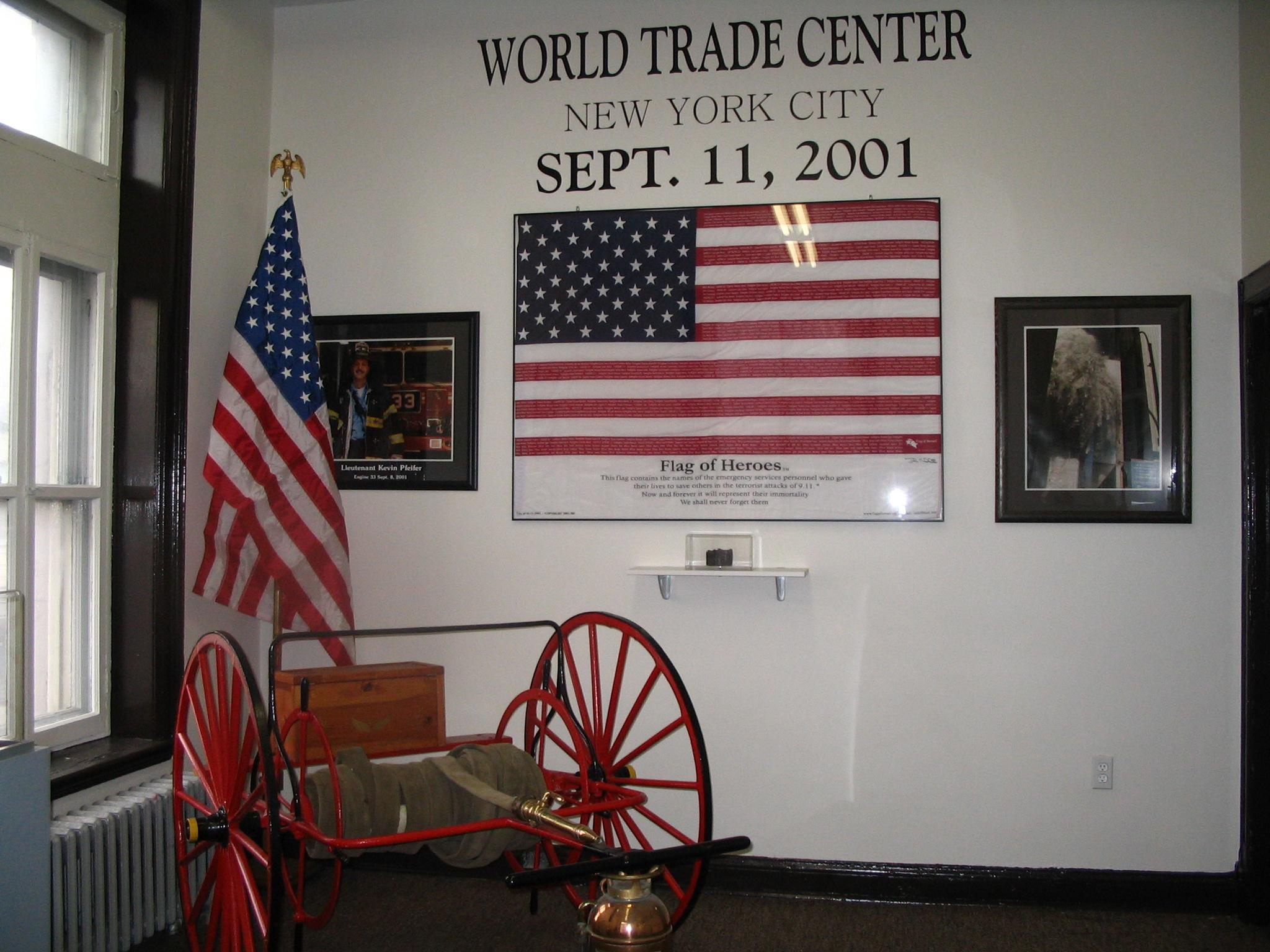 Musée WTC mur
