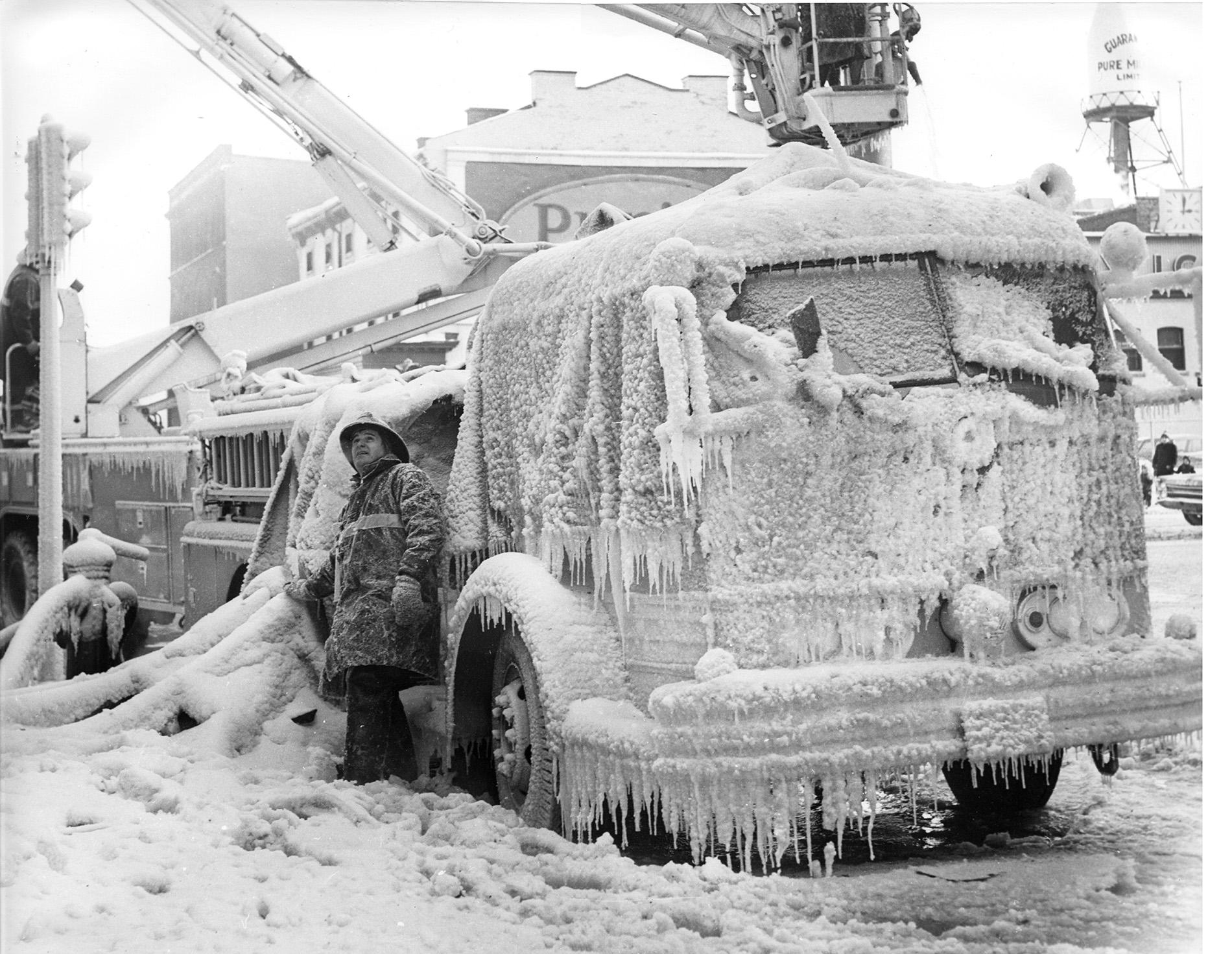 Camion en glace