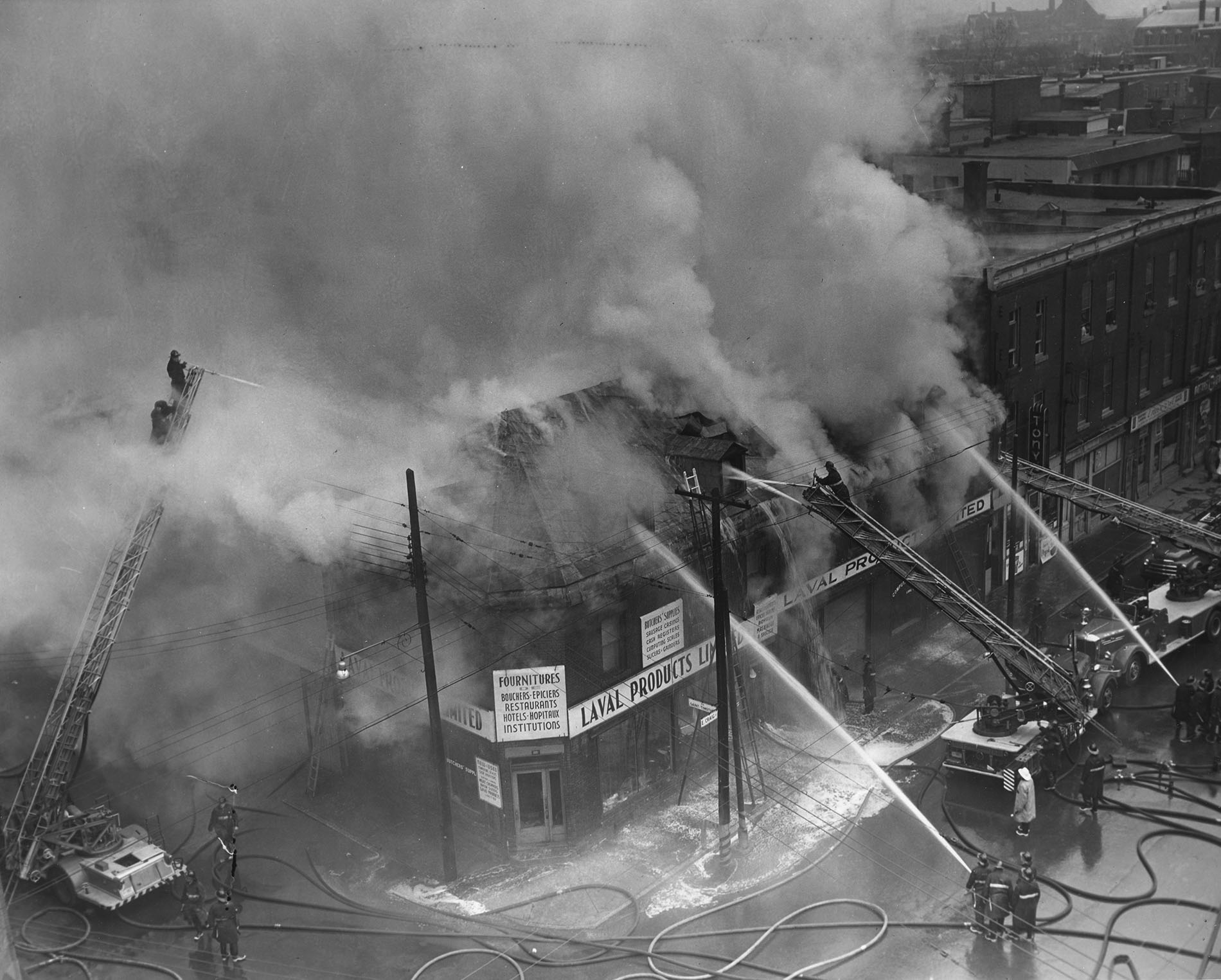 Oct 28 1959 Craig St Timothee 2 alarm