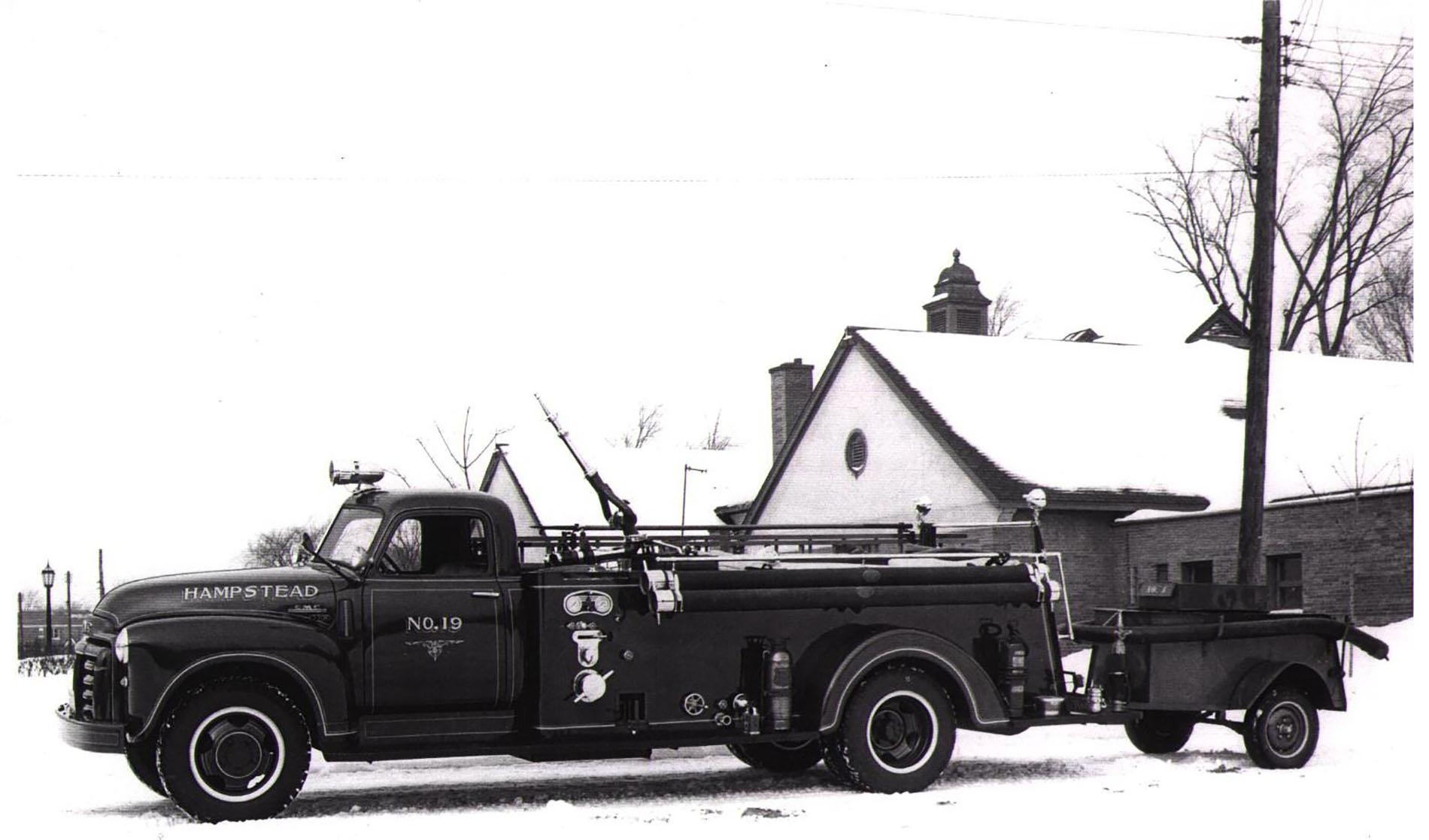 GMC Hampstead 1952 3 quarter Ton