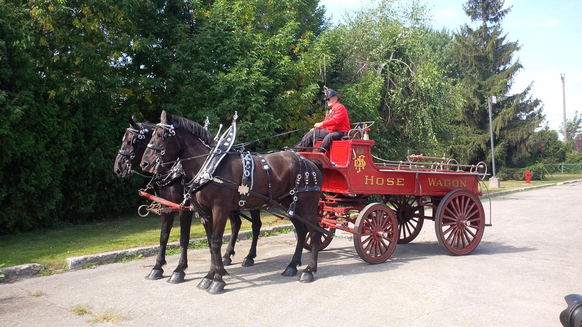 Hose Wagon Circa 1900